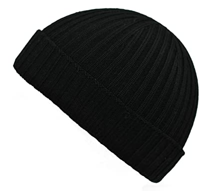 d90fea779cdd15 Mens Ladies 100% Fine Merino Wool Ribbed Turn Up Beanie Hat Hats Made in  England