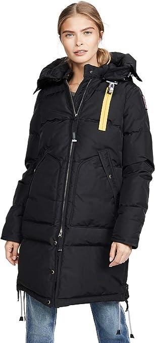Parajumpers damski płaszcz puchowy Parka Masterpiece Long Bear Base - ciemnoszary/czarny: Odzież