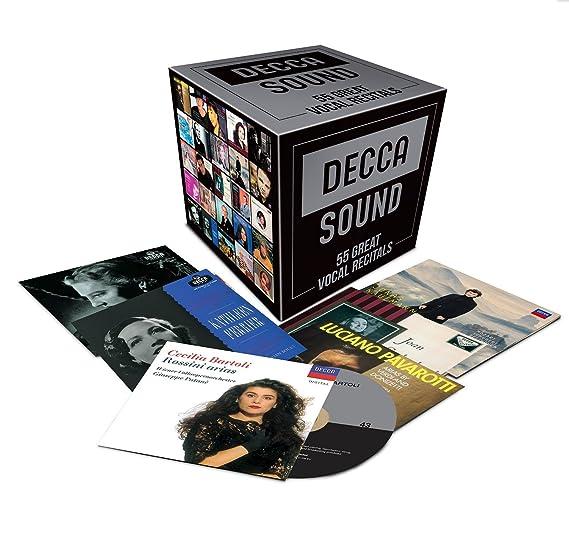 Decca Sound  55 Great Vocal Recitals  Amazon.co.uk  Music a7d9e898126