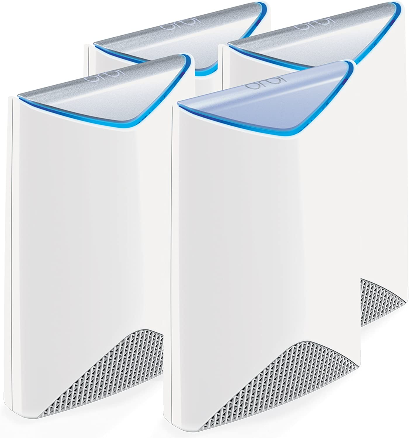 RBK50 with NETGEAR CM400 8x4 Cable Modem DOCSIS 3.0 Max Download Speeds of 343Mbps. NETGEAR Orbi High-performance AC3000 Tri-band Mesh WiFi System