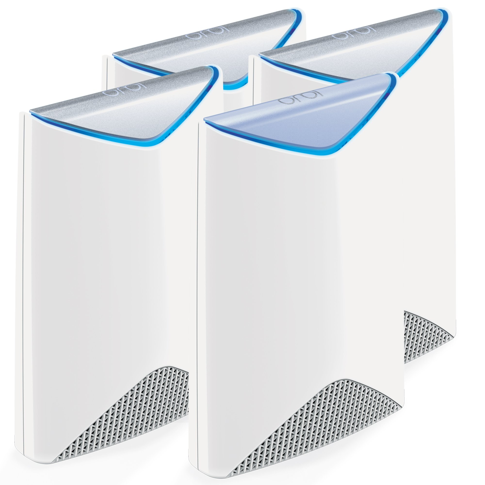 NETGEAR Orbi Pro AC3000 Business Mesh WiFi System, 4-Pack, Wireless Access Point (SRK60B04) by NETGEAR