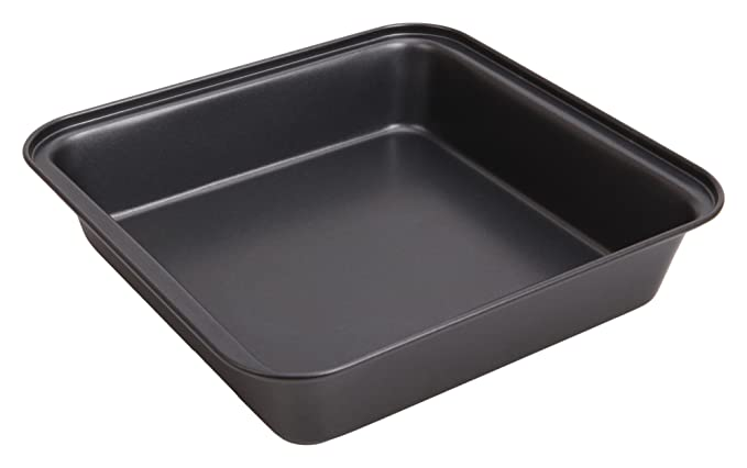 Wees Beyond 6841-C Large Non-Stick Easy Release Muffin/Cupcake Pan 6 Cups, Dark Gray