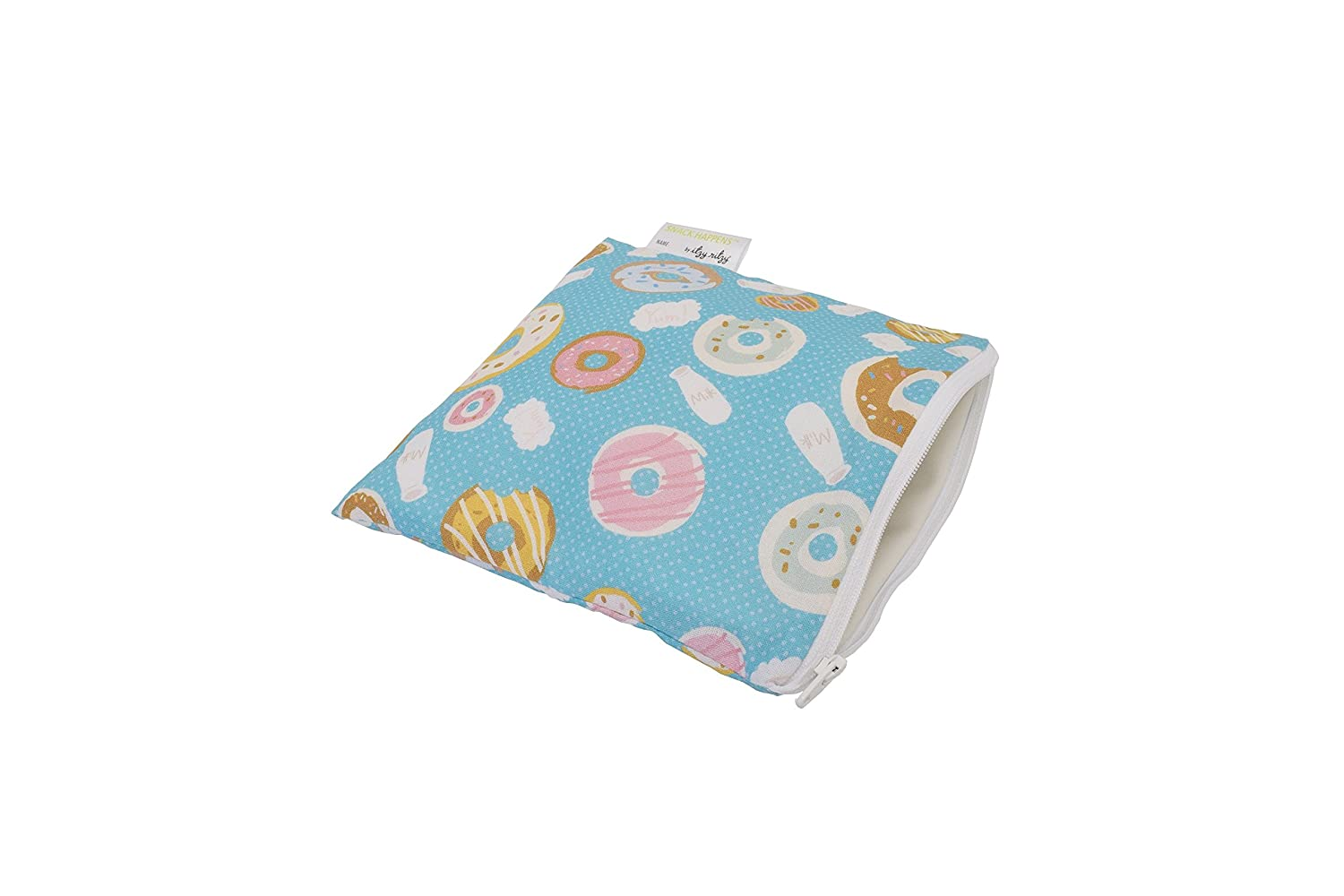 Itzy Ritzy IR-SWB8300 Snack Happens Reusable Snack and Everything Bag, Donut Shop