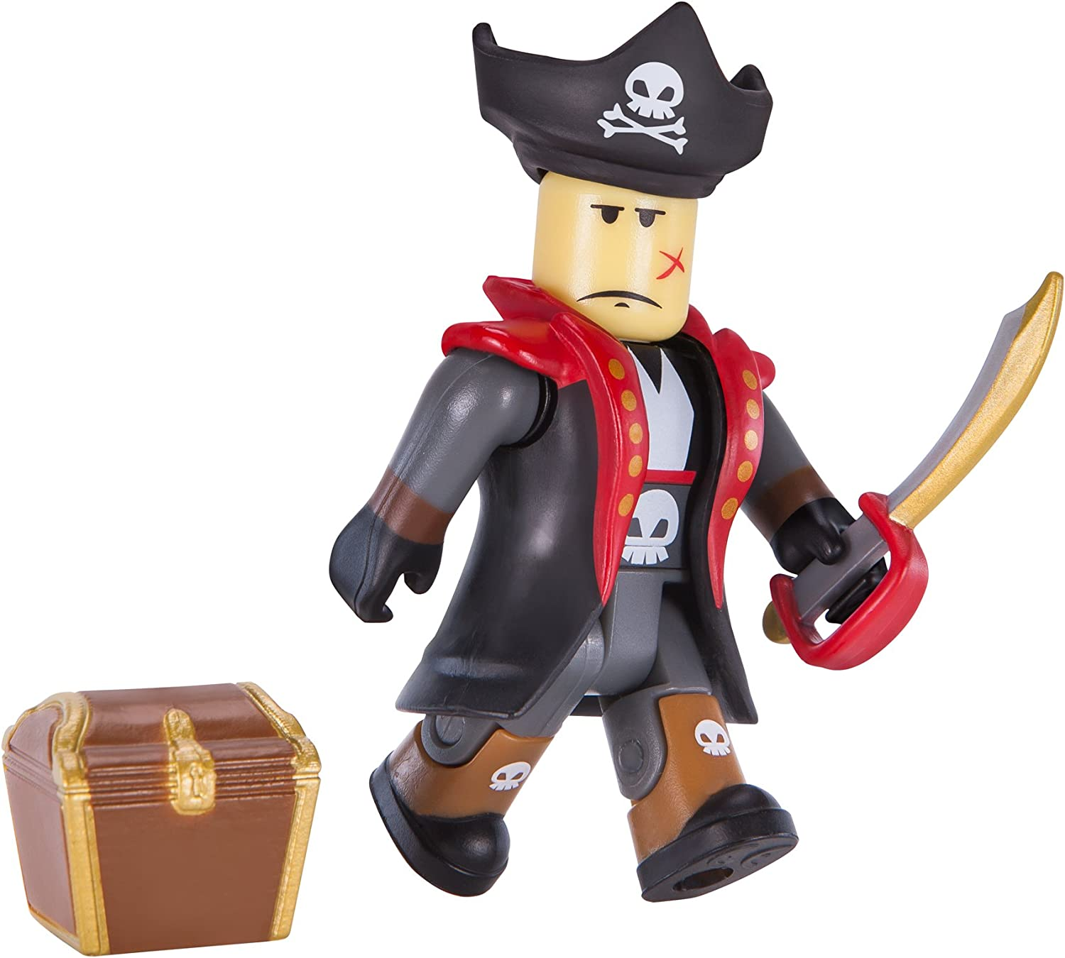 Amazon Com Roblox Action Collection Captain Rampage Figure Pack