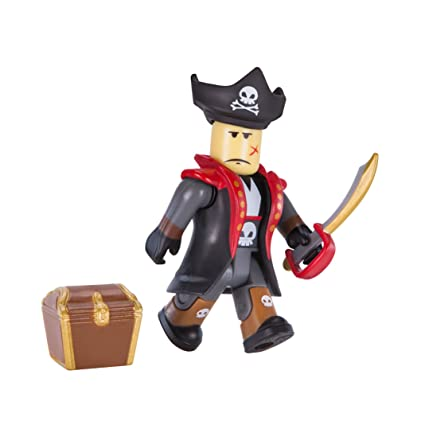 amazon com roblox captain rampage figure pack toys games