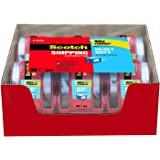 Scotch Heavy Duty Shipping Packaging Tape T8MT, 1.88 Inches x 800 Inches, 18 Rolls with Dispenser