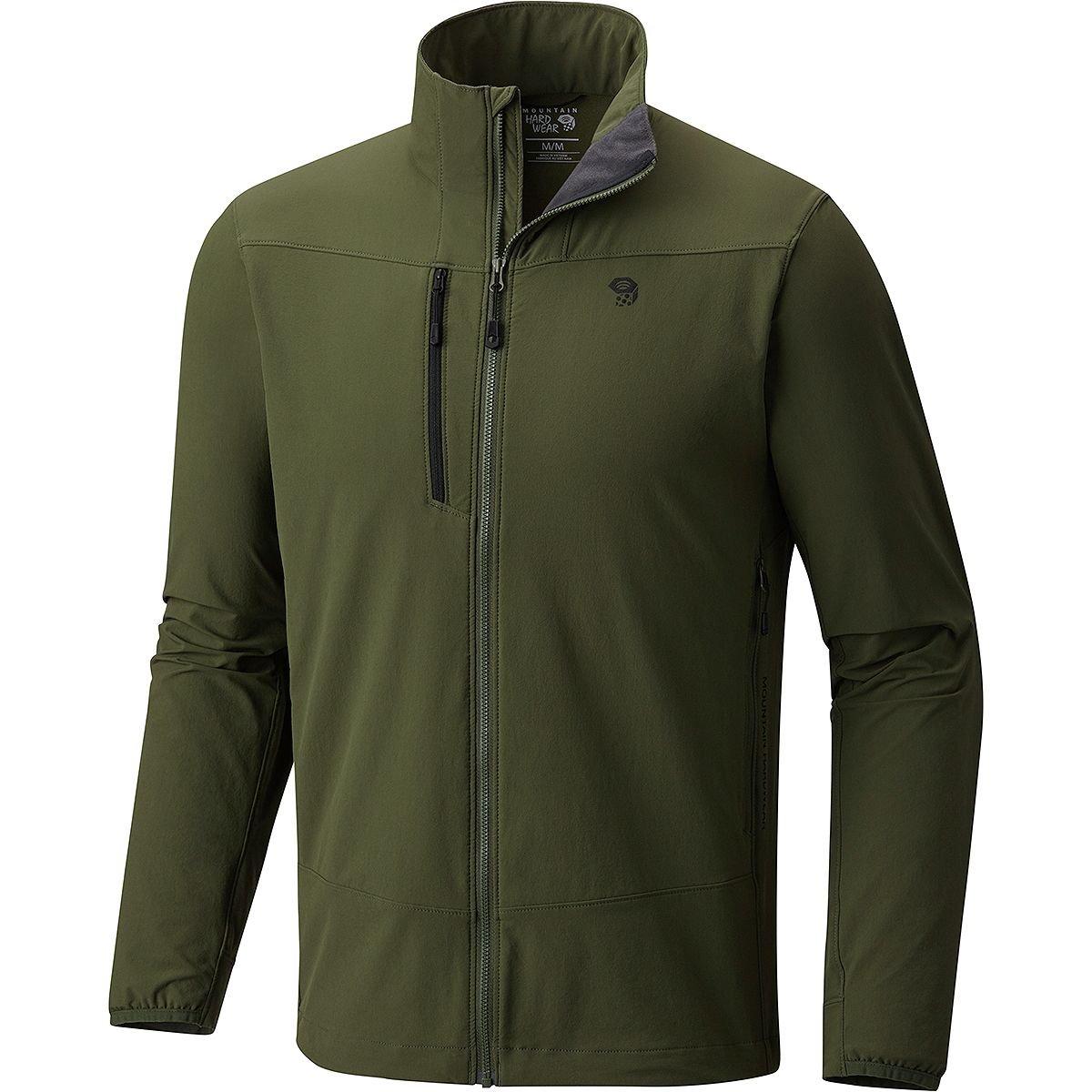 Mountain Hardwear Super Chockstone Jacket – Men 's B079H1GCMC X-Large|サープラスグリーン(Surplus Green) サープラスグリーン(Surplus Green) X-Large