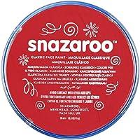 Snazaroo pintura facial, 18ml, color individual, Bright Red, 1