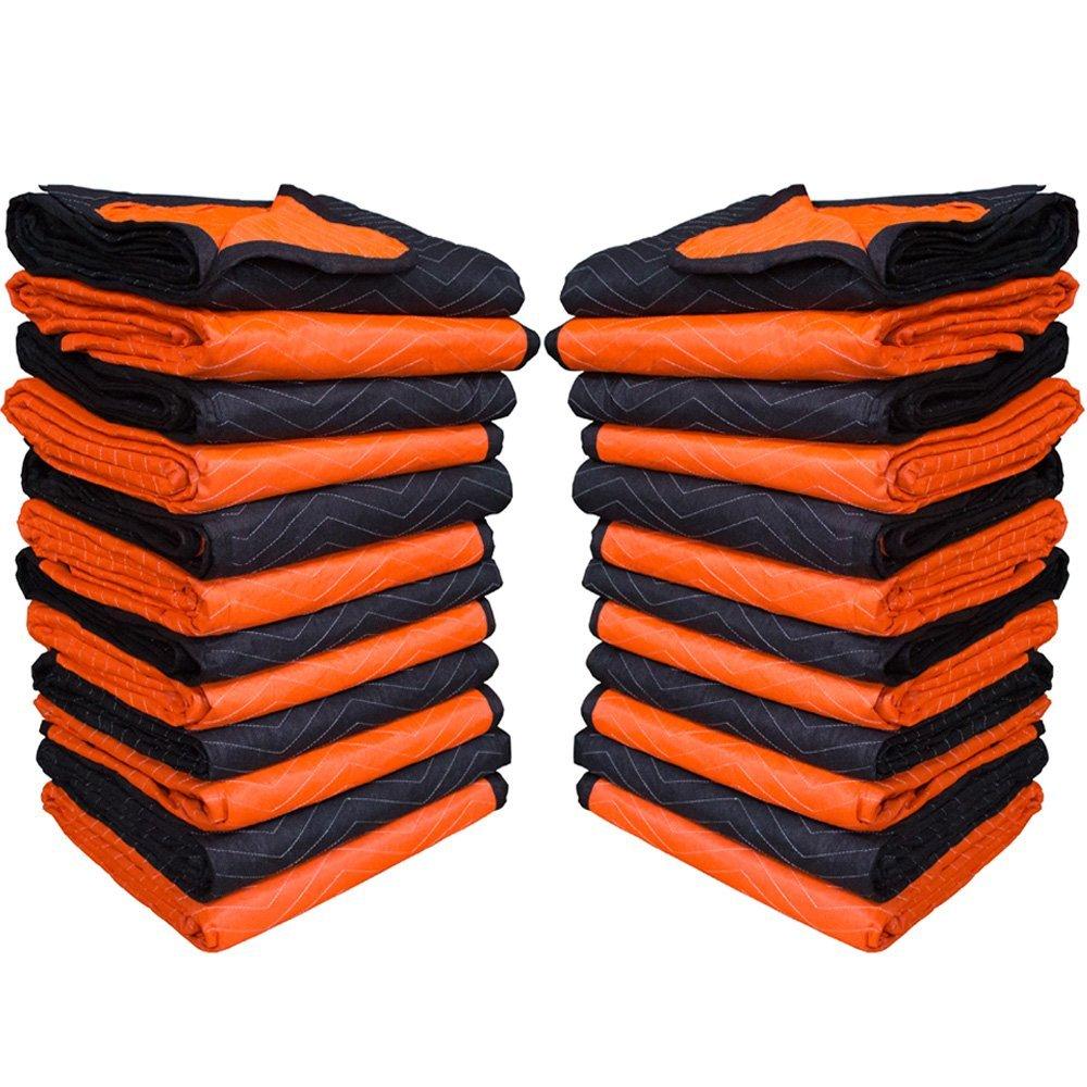 Forearm Forklift 72'' x 80'' Full Size-2 Color Moving Blanket, 24-Pack, Model FFMB24