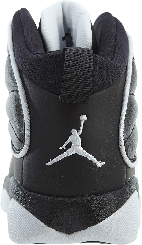 Black//White-White Jordan Boys Pro Strong Basketball Shoes 13.5C