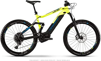 Haibike Sduro FullSeven LT 9.0 Pedelec E-Bike - Bicicleta de montaña (27,5 pulgadas, talla L), color negro, amarillo y azul: Amazon.es: Deportes y aire libre