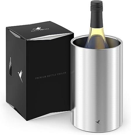 Weinkühler Flaschenkühler Sekt-Kühler Sektkübel Champagnerkühler Edelstahl