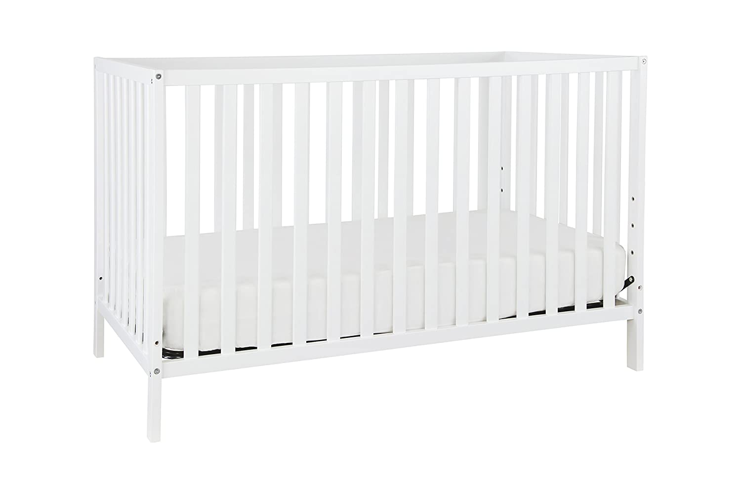 Union 3-in-1 Convertible Crib, Grey DaVinci M3801G
