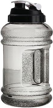 New 2.2L Large Sport Water Bottle Gym Training Drink Cap Kettle BPA Free US