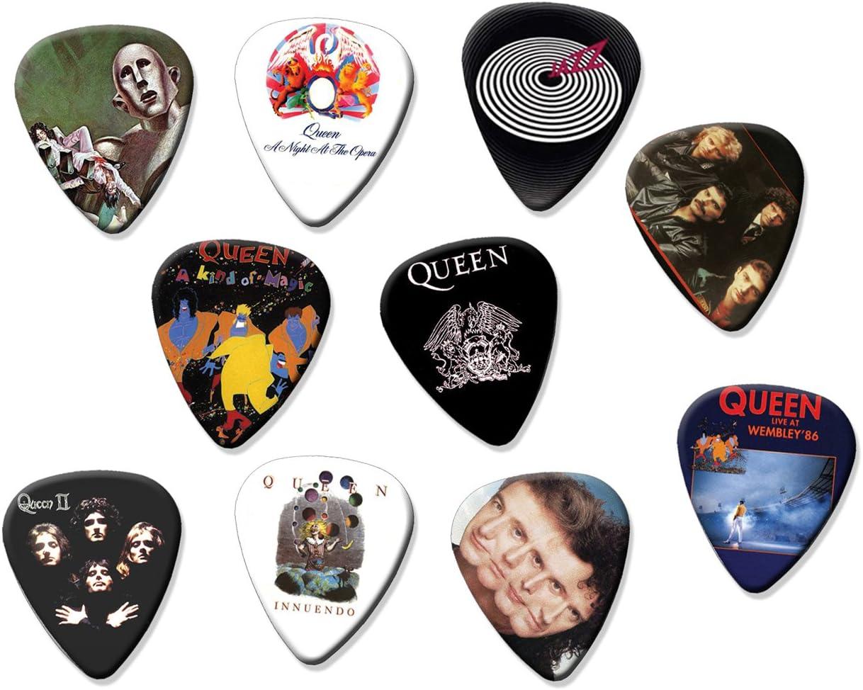 Queen Classic Recordings Set Of 10 Loose Guitarra Pick Púa Paras ...