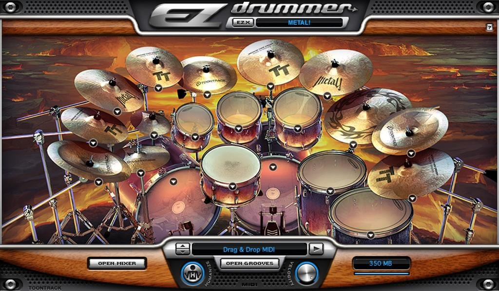 toontrack superior drummer 2 crack heads
