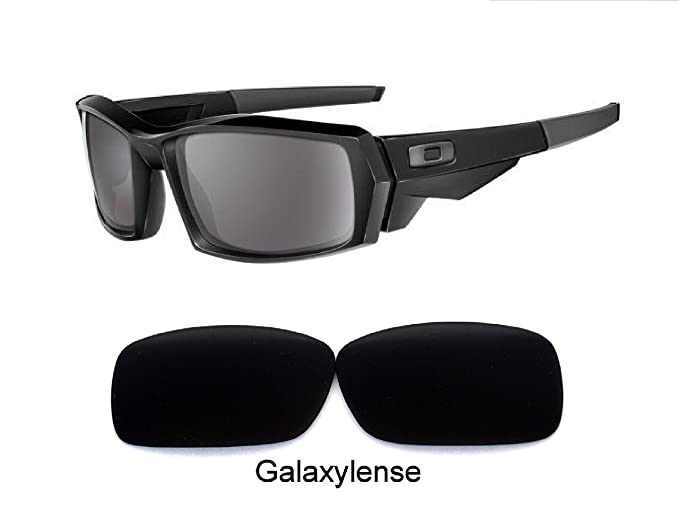 a177349385 Image Unavailable. Image not available for. Color  Galaxy Replacement Lenses  For Oakley Canteen(2006-13) Sunglasses Black Polarized