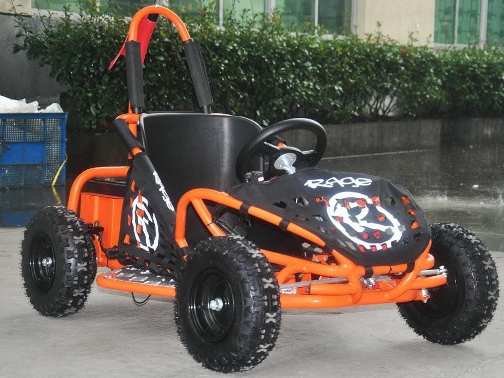 Rage Dune Buggy Electric Go Kart - 48v Battery 1000w Motor - Orange