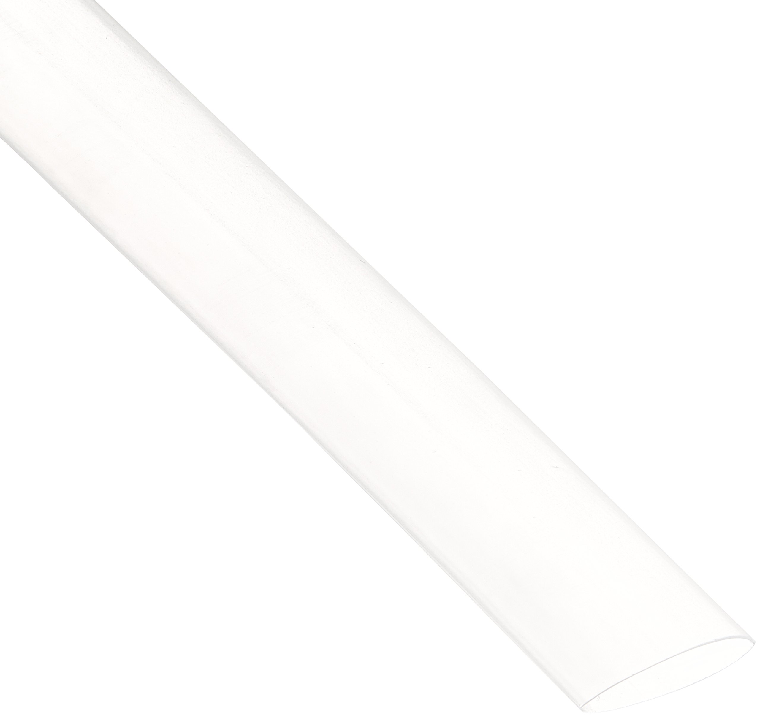 NTE Electronics 47-20806-CL Heat Shrink Tubing, Thin Wall, 2:1 Shrink Ratio, 1/2'' Diameter, 6'' Length, Clear (Pack of 12)