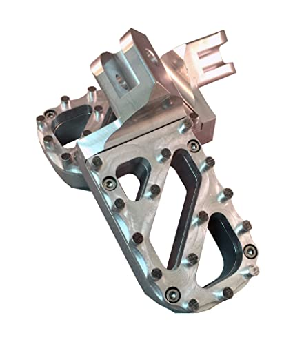 Amazon.com: Knight Design Lowered Wide Foot Peg Pair for Suzuki DR ...
