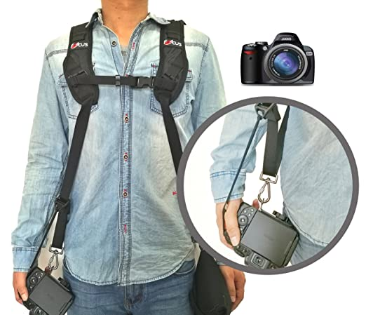 6 opinioni per Coolway® professionale rapido Rapid shooting camera Sling dual-shoulder cinghia