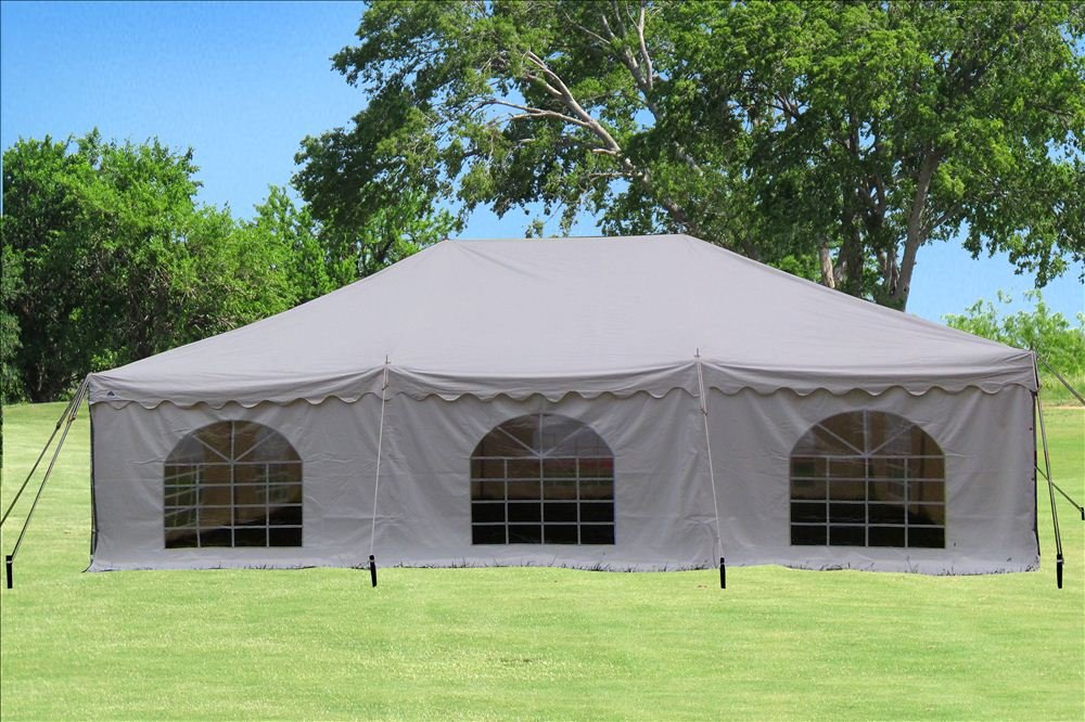 Amazon.com 30u0027x20u0027 PVC Pole Tent - Heavy Duty Wedding Party Canopy Shelter - with Storage Bags - By DELTA Canopies Garden u0026 Outdoor & Amazon.com: 30u0027x20u0027 PVC Pole Tent - Heavy Duty Wedding Party ...