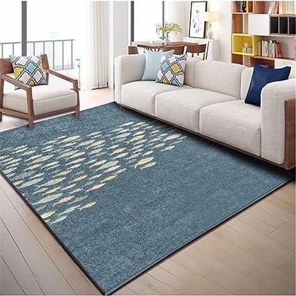 ZGP Interior Carpet Area Carpets, Geometry Living Room Bedroom Carpet Tea  Table Blanket Rectangle Modern