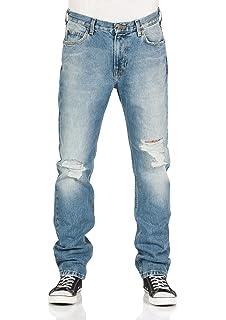 Lee Herren Jeans Rider - Slim Fit - Blau - Blue  Amazon.de  Bekleidung fed0afc08a