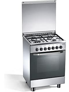 Smeg CX6SV9 Freestanding Gas A Stainless steel cooker - Cookers ...