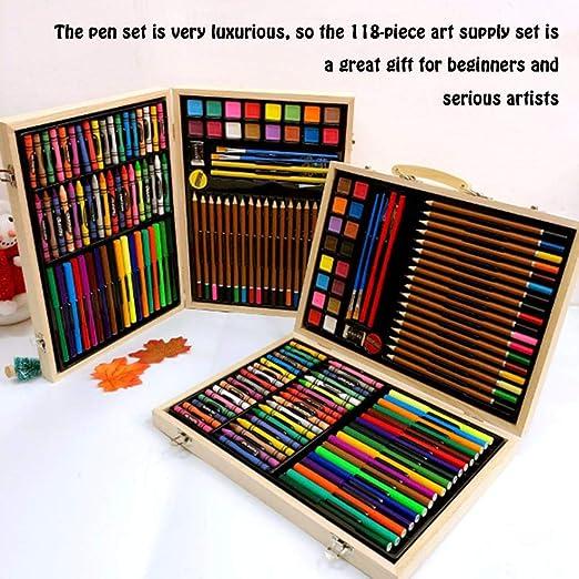 didatecar - Juego de bolígrafos de Colores con Caja de Pintura de ...