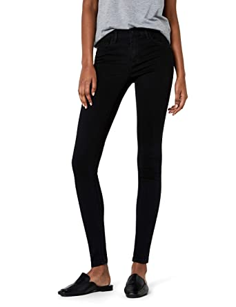 f7abf1edefe6 ONLY Damen Skinny Jeans onlRAIN REG CRY6060 NOOS, Schwarz (Black Denim), 34