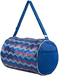 812518ee8141 Simple Relax Kid s Girls Dance Chevron Wave Sequin Duffle Bag Gymnastics  Cheer ...