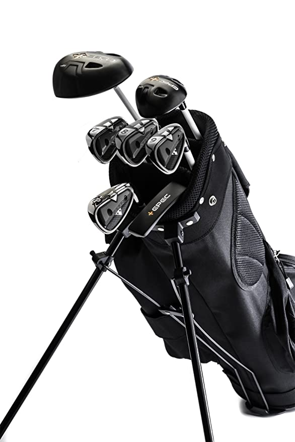 Amazon.com: EPEC Upgradeable Junior Golf Clubs (7PC Set ...