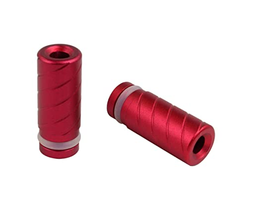4 opinioni per invapa®- Cilindro Style alluminio Drip Tip / Bocchino 510 spinta raccordo