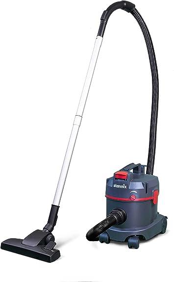 TS 711 Basic Starmix Aspirador de polvo bidón de plástico 11 l Potencia 700 W Aspirador seco suelos ecológico silencioso filtro vellón ruedas transporte accesorios: Amazon.es: Bricolaje y herramientas
