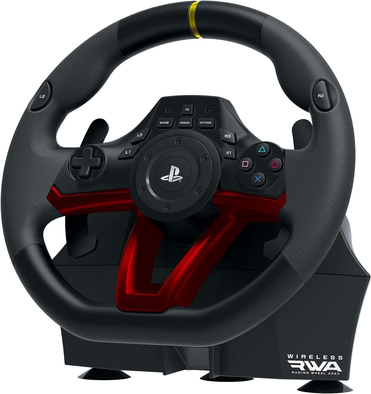 HORI - Volante Apex inalámbrico (PS4/PC)