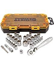 DEWALT DWMT73808 - Juego de destornilladores de caja rígida y tuercas (70 piezas), 1/4 pulgadas