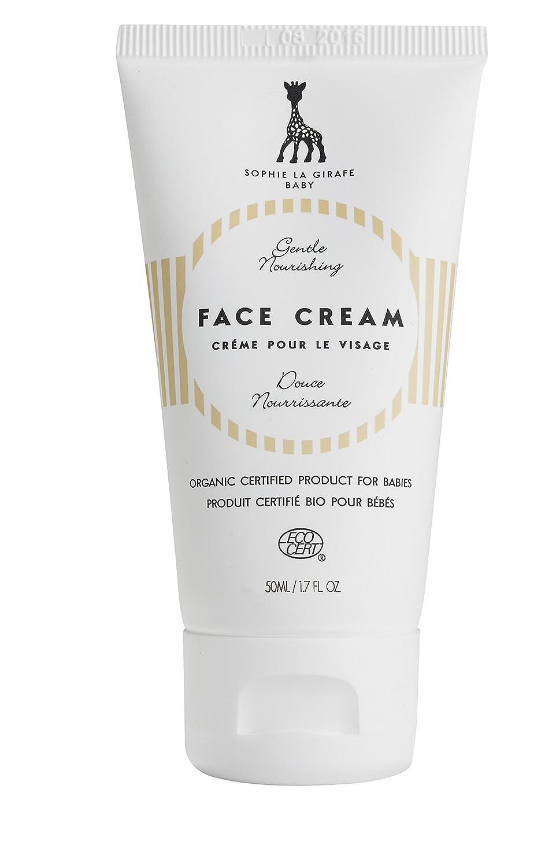 Sophie la Girafe Cosmetics SLG-701 - Crema facial para bebé, 50 ml Alva Organics