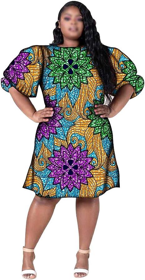 Puff Sleeves Ankara Dress Ankara Dress Off Shoulder Ankara Dress Below The Knee Ankara Dress Sophias Fab