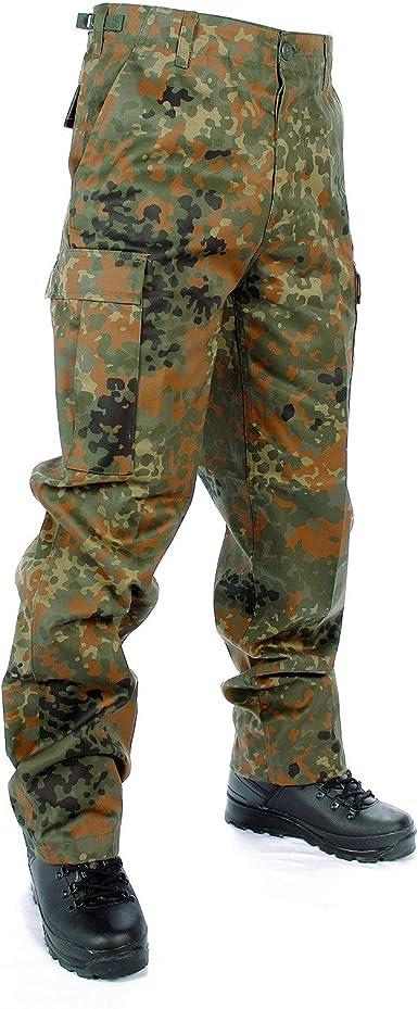 XXL Mil-Tec Herren Ripstop BDU Cargohose US Army Lang Feldhose Dunkelblau S