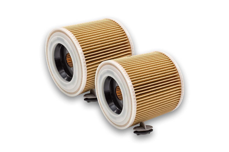 vhbw 2 x Cartuchos de filtro para aspiradora, Robot aspirador ...