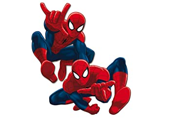 ALMACENESADAN 0890, Pack 4 Siluetas 30 cms Spiderman, para ...