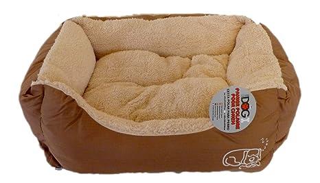 Urban Living duradero resistente al agua lienzo mascota camas Cojín extraíble, para perros y gatos