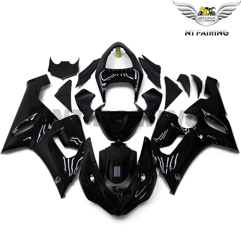 NT FAIRING Fit for Kawasaki Ninja ZX6R 636 2005 2006 Black Injection Molded Fairings Kit Body Kit Bodywork Plastic Bodyframe