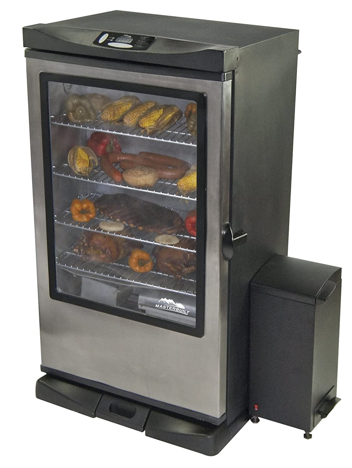 masterbuilt electric smoker control panel  | cookingadvisors.com
