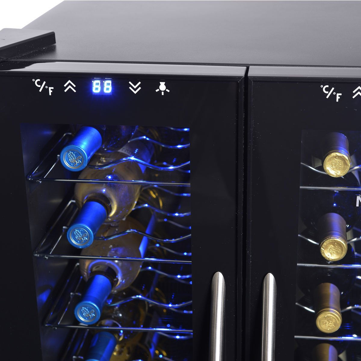 NewAir AW-320ED 32-Bottle Dual Zone Thermoelectric Wine Cooler by NewAir (Image #5)