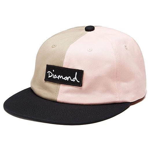 1be7c820071 Amazon.com  Diamond Supply Co. Split Script Snapback Hat - Pink  Clothing