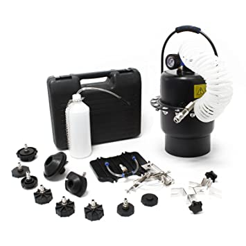 Dispositivo automático para el drenaje del purga liquido de los frenos con aire comprimido: Amazon.es: Coche y moto
