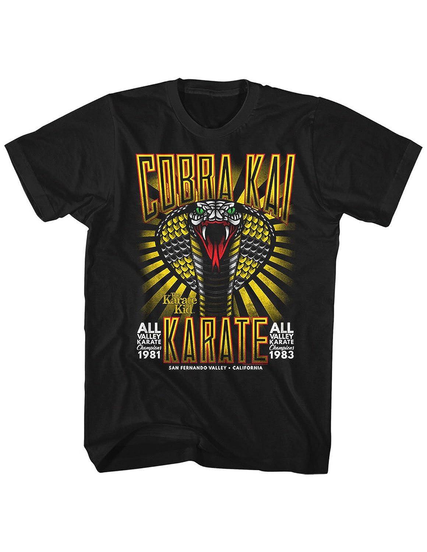 Karate Kid - Mens Tattoo Cobra T-Shirt