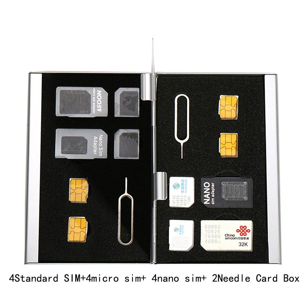 Myymee 4 Soportes de Tarjeta SIM estándar + 4 titulares de ...
